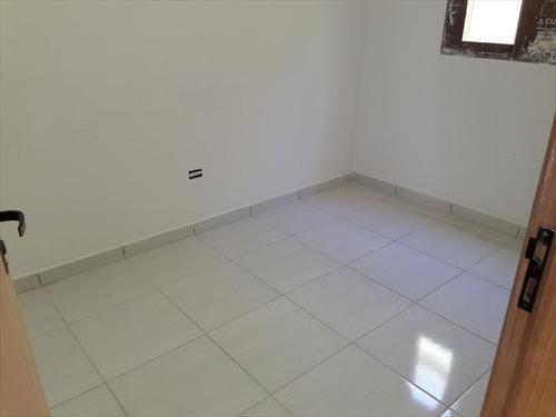 ref.: 152017400 - casa condomínio fechado em praia grande, no bairro melvi - 2 dormitórios