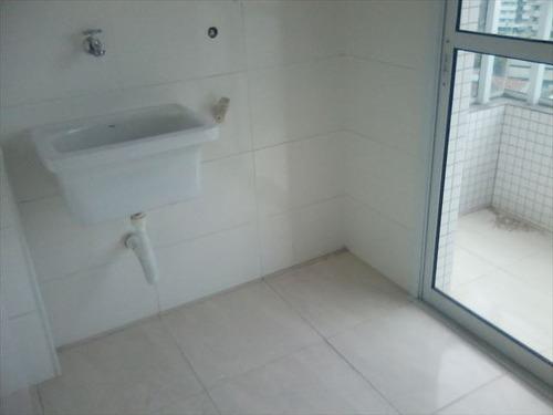 ref.: 152026400 - apartamento em praia grande, no bairro boqueirao - 2 dormitórios