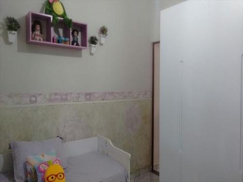 ref.: 152032300 - casa em praia grande, no bairro guilhermina - 2 dormitórios