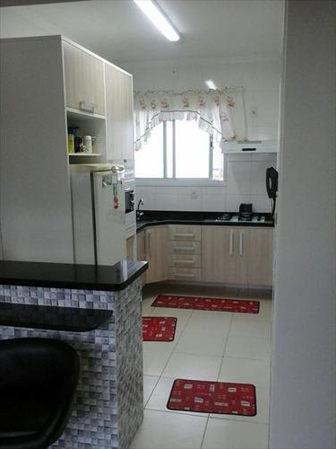 ref.: 152042400 - apartamento em praia grande, no bairro boqueirao - 2 dormitórios