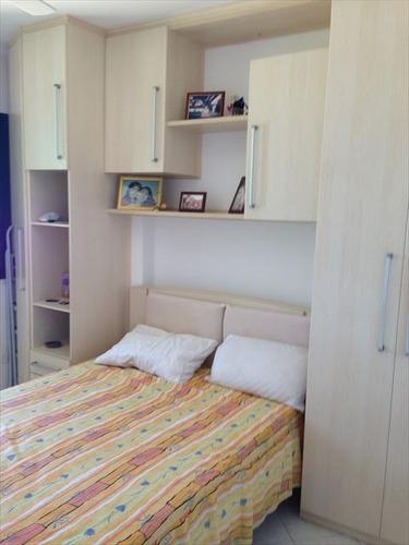 ref.: 152042800 - apartamento em praia grande, no bairro guilhermina - 3 dormitórios