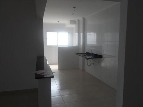 ref.: 152043000 - apartamento em praia grande, no bairro guilhermina - 3 dormitórios
