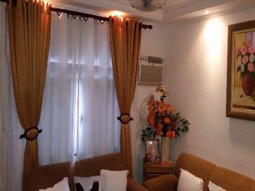 ref.: 152044800 - apartamento em santos, no bairro aparecida - 2 dormitórios