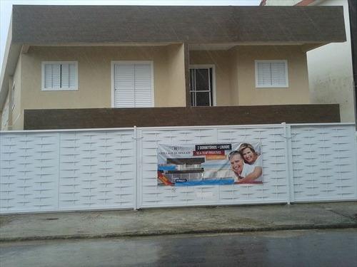 ref.: 152045300 - casa em praia grande, no bairro real - 2 dormitórios