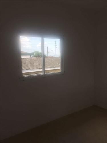 ref.: 152057400 - casa condomínio fechado em praia grande, no bairro quietude - 2 dormitórios