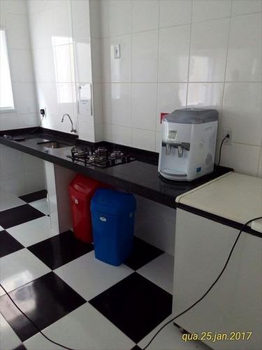 ref.: 152064900 - apartamento em praia grande, no bairro guilhermina - 2 dormitórios