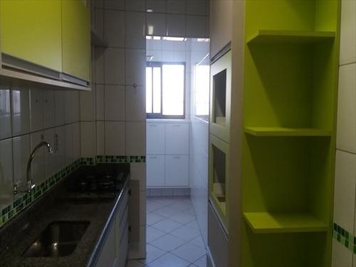 ref.: 152092000 - apartamento em praia grande, no bairro guilhermina - 2 dormitórios