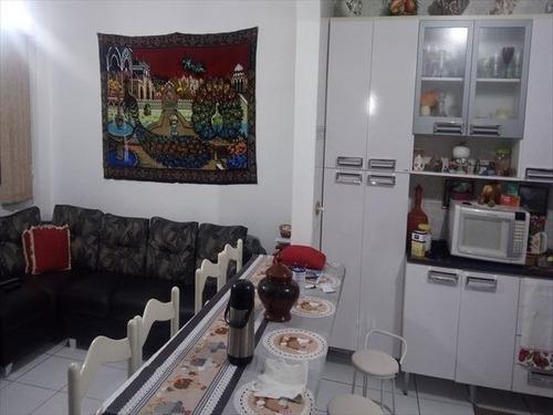 ref.: 152095600 - apartamento em praia grande, no bairro guilhermina - 1 dormitórios