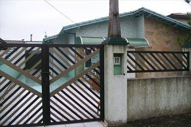 ref.: 152100 - casa em praia grande, no bairro canto do forte - 3 dormitórios