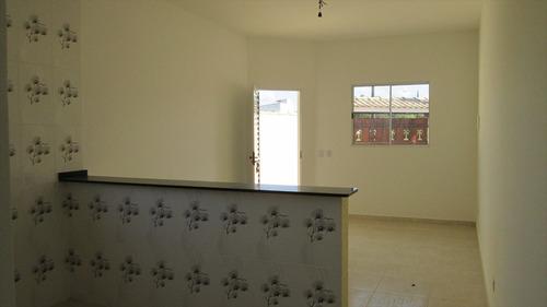 ref.: 153 - casa em itanhaém, no bairro jardim regina - 2 dormitórios