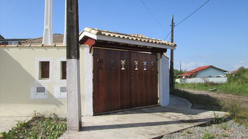 ref.: 15300 - casa em itanhaém, no bairro jardim regina - 2 dormitórios