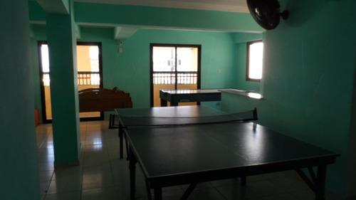 ref.: 1550 - apartamento em praia grande, no bairro campo aviacao - 2 dormitórios