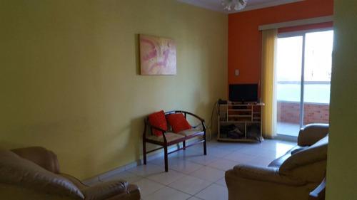 ref.: 1552 - apartamento em praia grande, no bairro vila guilhermina - 2 dormitórios