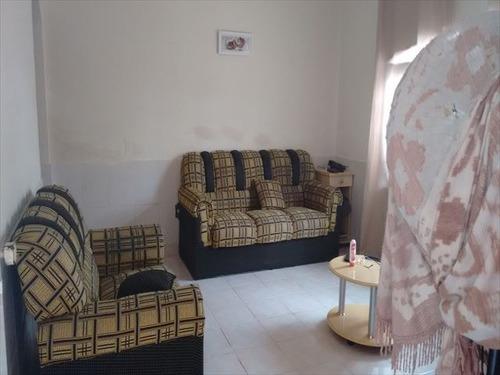 ref.: 155401 - casa em praia grande, no bairro guilhermina - 2 dormitórios