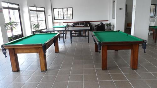 ref.: 1557 - apartamento em praia grande, no bairro vila guilhermina - 2 dormitórios