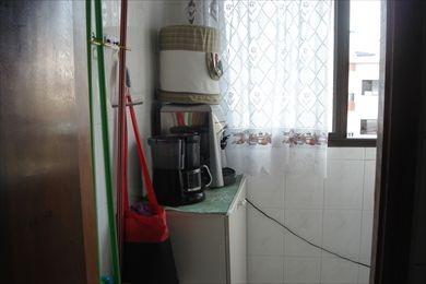 ref.: 155900 - apartamento em praia grande, no bairro vila guilhermina - 1 dormitórios