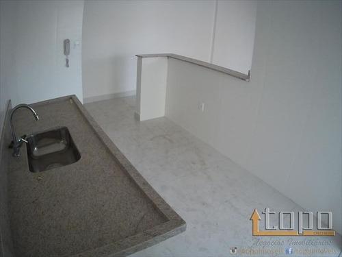 ref.: 1564 - apartamento em praia grande, no bairro caicara - 2 dormitórios