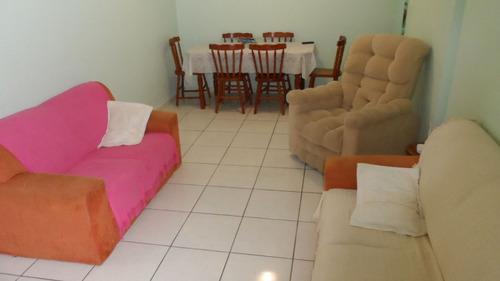 ref.: 1575 - apartamento em praia grande, no bairro campo aviacao - 2 dormitórios