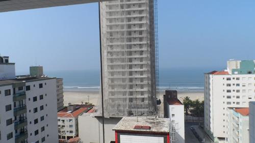 ref.: 1584 - apartamento em praia grande, no bairro campo aviacao - 2 dormitórios