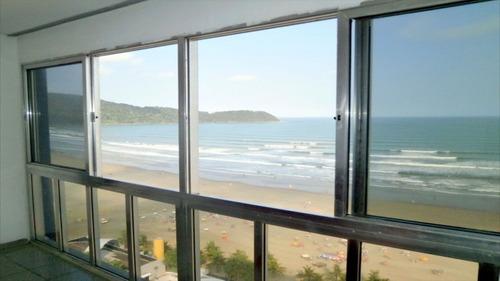 ref.: 1591 - apartamento em praia grande, no bairro boqueirao - 2 dormitórios