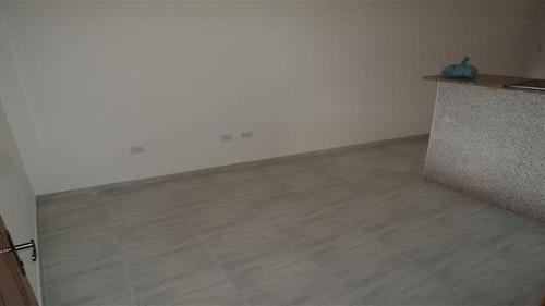 ref.: 1597 - casa em praia grande, no bairro vila guilhermina - 2 dormitórios