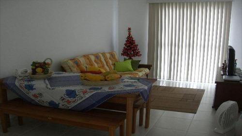 ref.: 1605 - apartamento em praia grande, no bairro vila mirim - 2 dormitórios