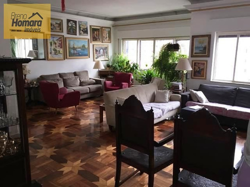 ref.: 162 - apartamento em sao paulo, no bairro perdizes - 3 dormitórios