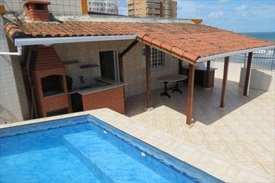 ref.: 162200 - apartamento em praia grande, no bairro vila mirim - 3 dormitórios