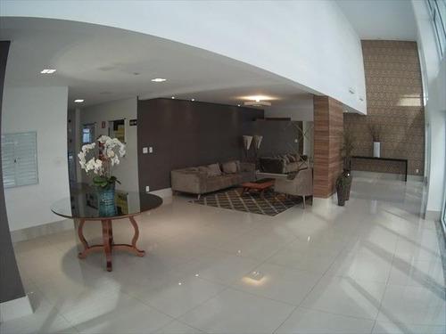 ref.: 1624 - apartamento em praia grande, no bairro guilhermina - 2 dormitórios