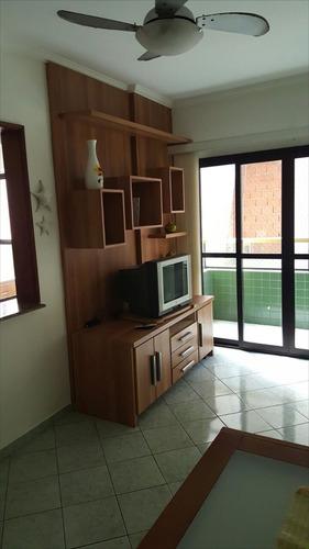 ref.: 1628 - apartamento em praia grande, no bairro canto do forte - 1 dormitórios
