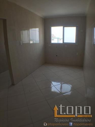 ref.: 1632 - apartamento em praia grande, no bairro guilhermina - 2 dormitórios