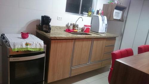 ref.: 1633 - apartamento em sao vicente, no bairro centro - 1 dormitórios