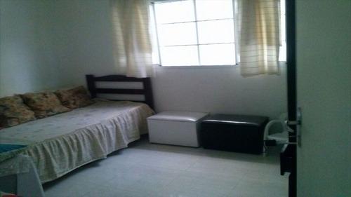 ref.: 1634 - casa em praia grande, no bairro vila guilhermina - 2 dormitórios