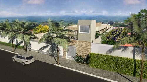 ref.: 164 - casa condomínio fechado em itanhaém, no bairro cibratel ii - 2 dormitórios