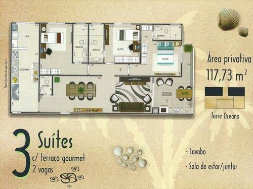 ref.: 1644 - apartamento em praia grande, no bairro caicara - 3 dormitórios