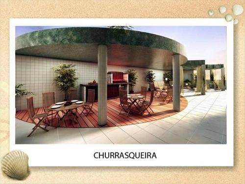ref.: 1645 - apartamento em praia grande, no bairro caicara - 2 dormitórios