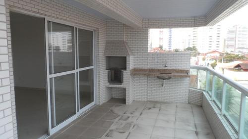 ref.: 1653 - apartamento em praia grande, no bairro vila guilhermina - 3 dormitórios
