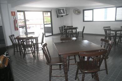 ref.: 1656 - apartamento em praia grande, no bairro vila guilhermina - 2 dormitórios
