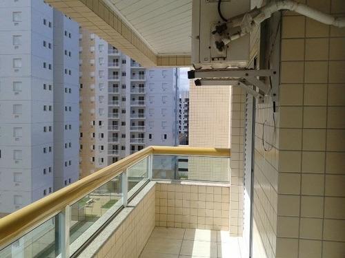 ref.: 165701 - apartamento em praia grande, no bairro ocian - 2 dormitórios