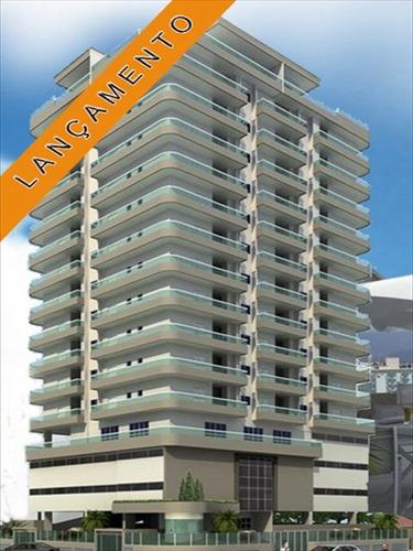 ref.: 1658 - apartamento em praia grande, no bairro ocian - 2 dormitórios