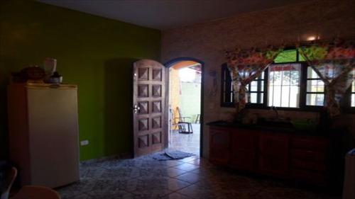 ref.: 166 - casa em itanhaém, no bairro nova itanhaém - 2 dormitórios