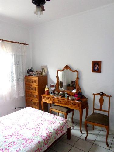 ref.: 166 - casa em praia grande, no bairro canto do forte - 2 dormitórios