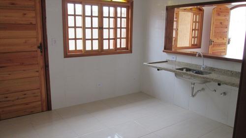ref.: 168 - casa em itanhaém, no bairro jardim regina - 2 dormitórios
