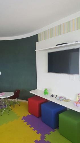ref.: 1691 - apartamento em praia grande, no bairro vila guilhermina - 4 dormitórios