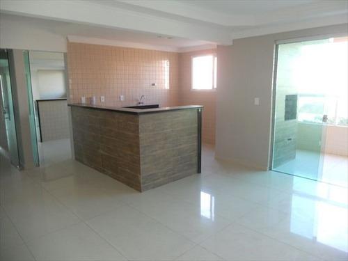 ref.: 1693 - apartamento em praia grande, no bairro guilhermina - 2 dormitórios