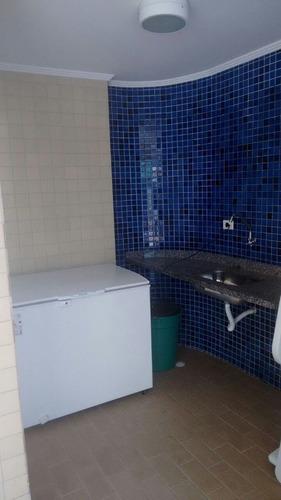 ref.: 1707 - apartamento em praia grande, no bairro vila guilhermina - 1 dormitórios
