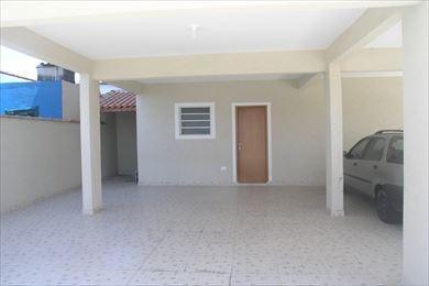 ref.: 1710 - casa em praia grande, no bairro sitio do campo - 2 dormitórios