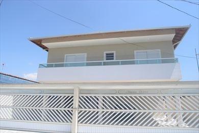 ref.: 1711 - casa em praia grande, no bairro sitio do campo - 2 dormitórios