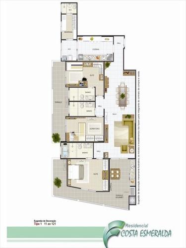 ref.: 1715 - apartamento em praia grande, no bairro aviacao - 3 dormitórios