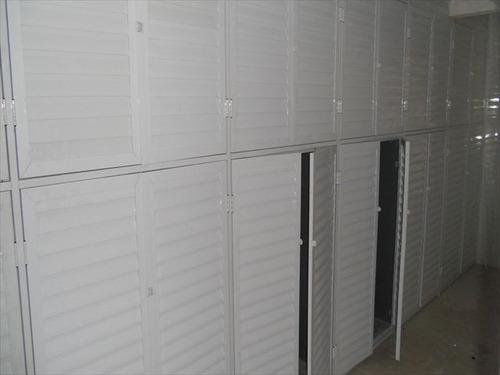 ref.: 1718 - apartamento em praia grande, no bairro aviacao - 2 dormitórios